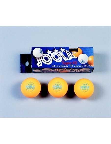 Balls Joola Super *** 40, 3 unidades