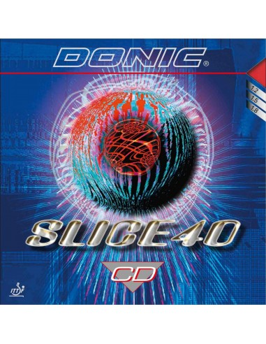 Borracha Donic Slice 40 CD