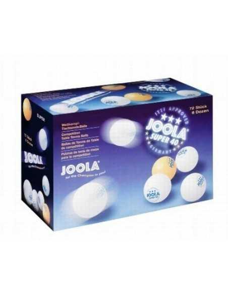 Balle Joola Super *** 40, (boîte de 72)