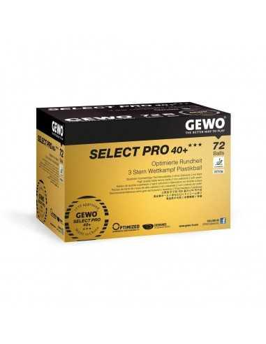 GEWO Ball Select Pro 40+ *** ABS 72er Pack