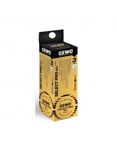 GEWO Ball Select Pro 40+ *** ABS 3er Pack