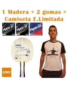 Pack GEWO Alvaro Robles OFF + Camiseta E. Limitada