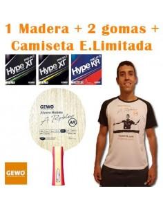 Pack GEWO Alvaro Robles OFF- + Camiseta E. Limitada