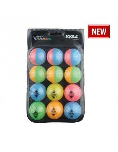 Balls Joola Colorato ballset Pack 12