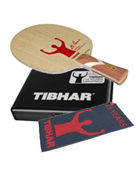 Pack Edicion Limitada Tibhar VS Unlimited Samsonov 25th Aniv. Madera + Alu Case + Toalla