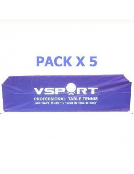 Valla VSport Nylon 2,33m Full Cover (reforzada) Pack X5