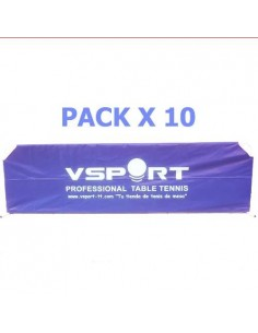 Séparations VSport Fullcover Nylon 2,33m. Pack X10