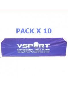 Spielfeldumrandung VSport Fullcover Nylon 2,33m. Pack X10
