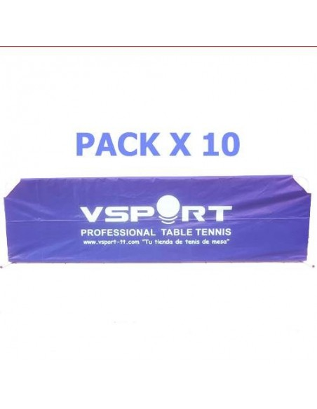 Valla VSport Nylon 2,33m Full Cover (reforzada) Pack X10