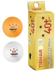 Balles en plastique Tibhar 40+ Synt NG *** ABS Pack 3