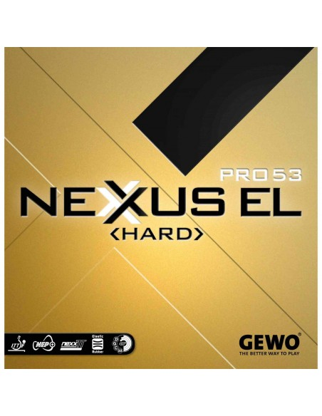 Rubber Gewo Nexxus EL Pro 53 HARD