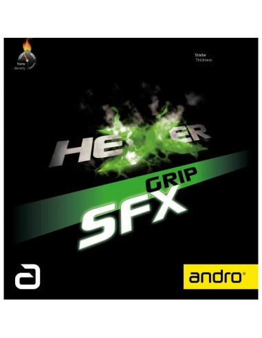 Belag Andro Hexer Grip SFX