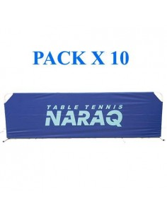 Valla NARAQ Nylon 2,33m Full Cover (reforzada) Pack X10