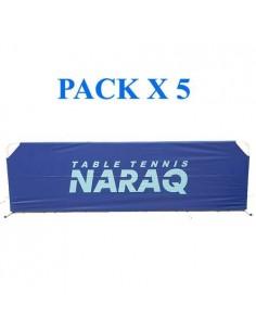 Séparations NARAQ Fullcover Nylon 2,33m. Pack X5