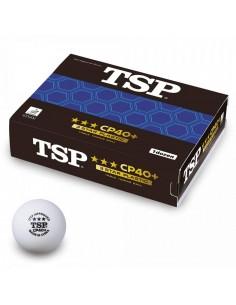 Balles en plastique TSP CP40+ 3*** pack 3