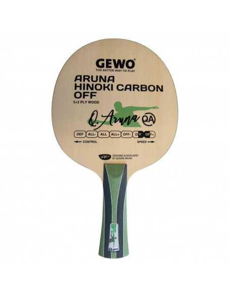 GEWO Blade Aruna Hinoki Carbon OFF