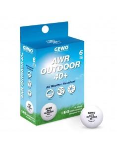 Gewo AWR Outdoor 40+ ball pack 6