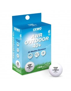 Pelotas GEWO AWR Outdoor 40+ ball pack 6