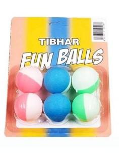 Fun Balle Tibhar multicolore Cartoon