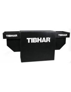Mesa de árbitros com toalheiros Tibhar