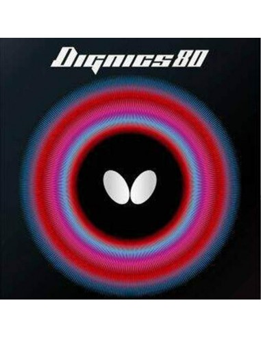 Butterfly rubber Dignics 80