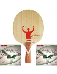 FULL Pack Edicion Limitada Tibhar VS Unlimited Samsonov 25th Aniv. Madera + Alu Case + Toalla + Gomas