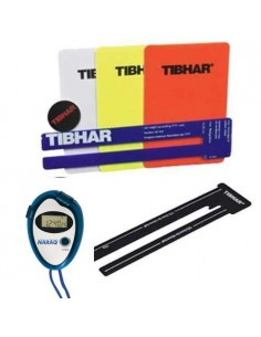 Set Arbitro completo Tibhar