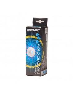 Balle plastique Donic P40+ 3*** pack 3