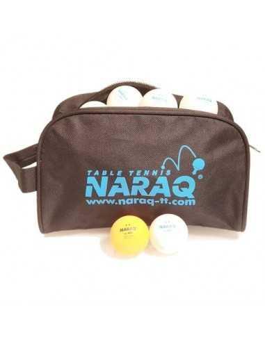 Plastic ball NARAQ 2** Premium Training 40+ ABS pack 100 White