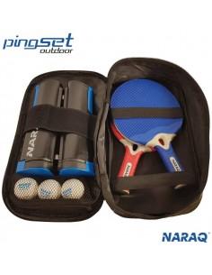 NARAQ PingSet Outdoor 2 raquetas