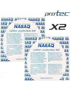 Film protector de gomas NARAQ ProTEC Pack X2