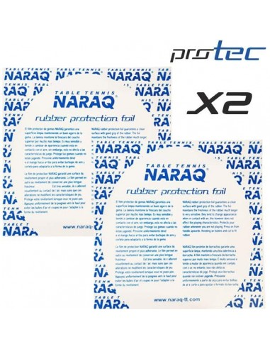 Rubber Protection foil NARAQ ProTEC Pack X2