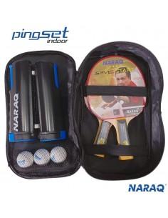 NARAQ PingSet Indoor 2 raquetas