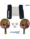 NARAQ PingSet Indoor 2 bats