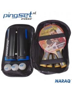 NARAQ PingSet Indoor 4 raquetas