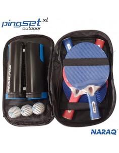 NARAQ PingSet Outdoor XL - 4 raquetas