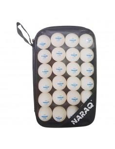 Set 20 Bälle NARAQ 2** Premium Training 40+ ABS + Tasche