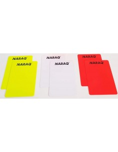 Cartões de árbitro NARAQ