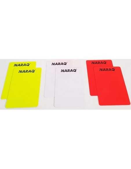 NARAQ Referee cards