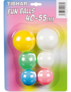Pelotas Tibhar Fun Balls Bicolor