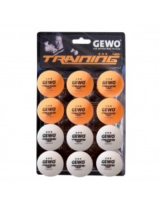 GEWO Training ball *** 40+ Pack 12 (2 colores)