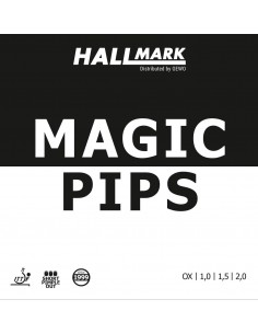 Rubber hallmark Magic Pips