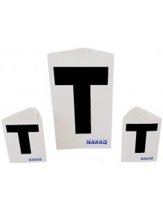 Cartões de árbitro NARAQ TIME OUT