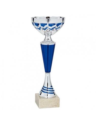 Trofeo tenis de mesa Azul 2020 37 cm