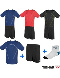 Pack T-Shirt Tibhar Cross + short Tibhar MC + Free socks