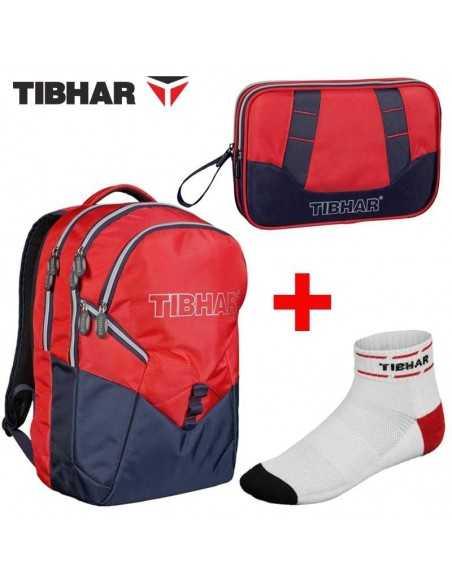 TIBHAR Pack DELUXE Backpack+ Double Cover + Free Socks