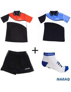 Pack NARAQ CLIMA polo + pantalón + Calcetines